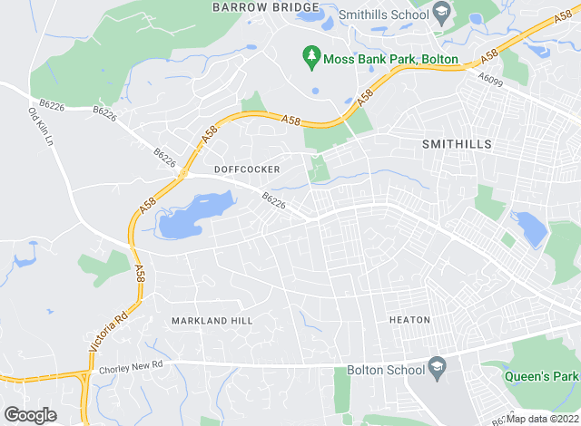 Map for Edwards Bespoke, Bolton