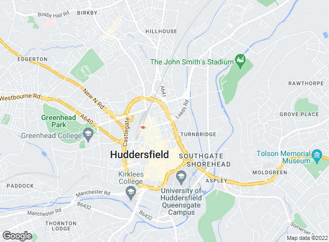 Map for Let Two Ltd, Huddersfield