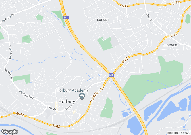 Map for Rochester Court, Horbury, Horbury, West Yorkshire, WF4