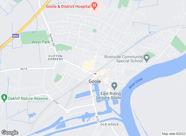 Map for Reeds Rains , Goole