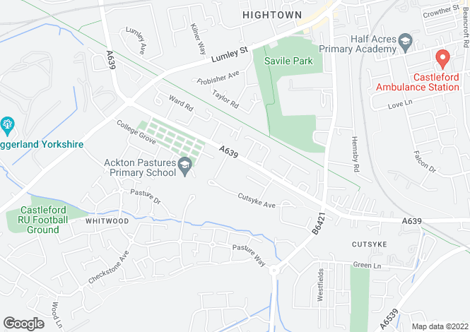 Map for BARWICK at Fellows Place, Leeds Barnsdale Road,