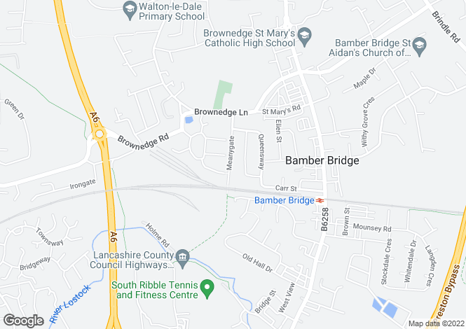 Map for Suite 3, Ribble House,