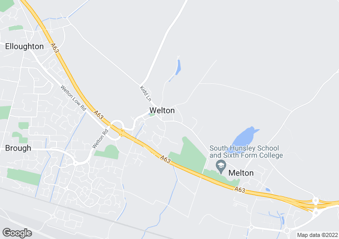 Map for Welton Old Road, Welton, Brough, East Yorkshire, HU15
