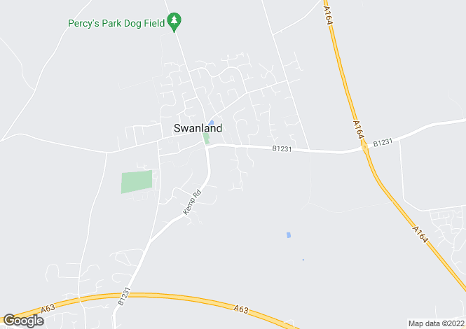 Map for Humber View, Swanland, East Yorkshire, HU14