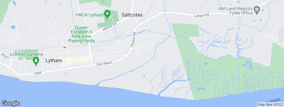 Map for Lytham Quays development by Redrow Homes