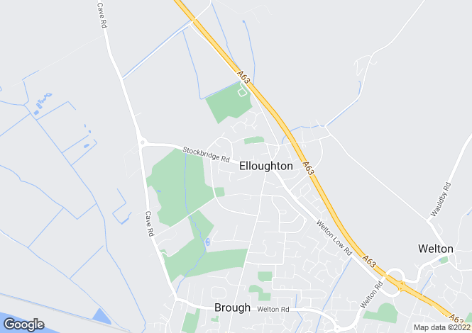 Map for Stockbridge Road, Elloughton, North Humberside, HU15