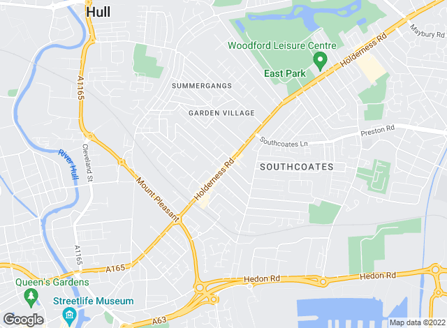 Map for Next Move Estate Agents, Hull HU8