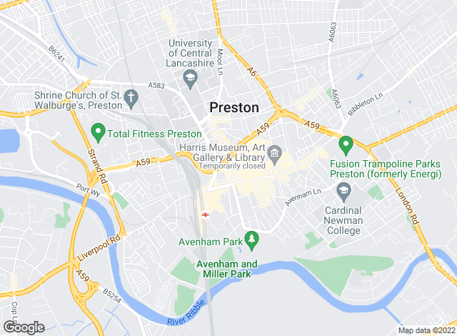 Map for Garside Waddingham, Preston