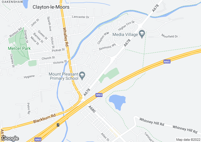 Map for Silvertree Works