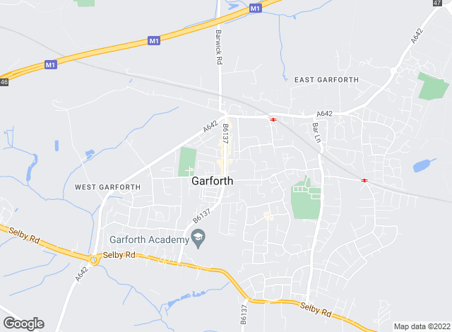 Map for Your Move, Premier Garforth