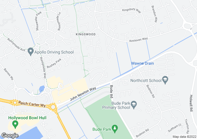 Map for Hemble Way, Kingswood