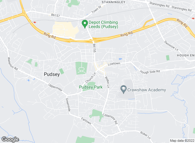 Map for DN Estates Ltd, Pudsey
