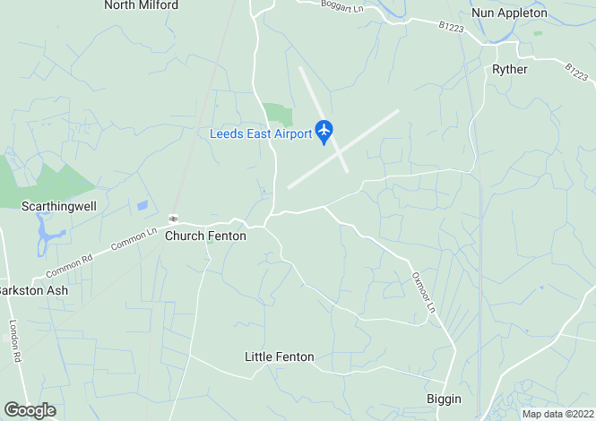 Map for Brackenhill Lane, Church Fenton, Tadcaster, LS24 9RP
