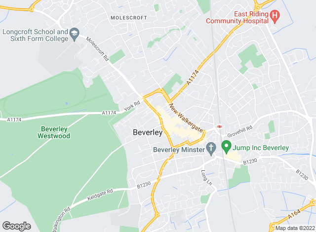 Map for William H. Brown - Lettings, Beverley  Lettings