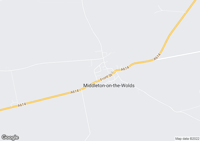 Map for Orchard Drive, Middleton On Wolds, East Yorkshire, YO25