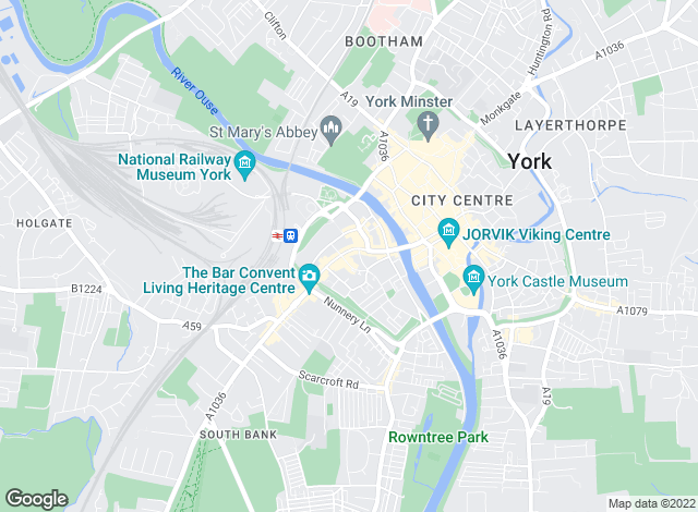 Map for Northwood, York