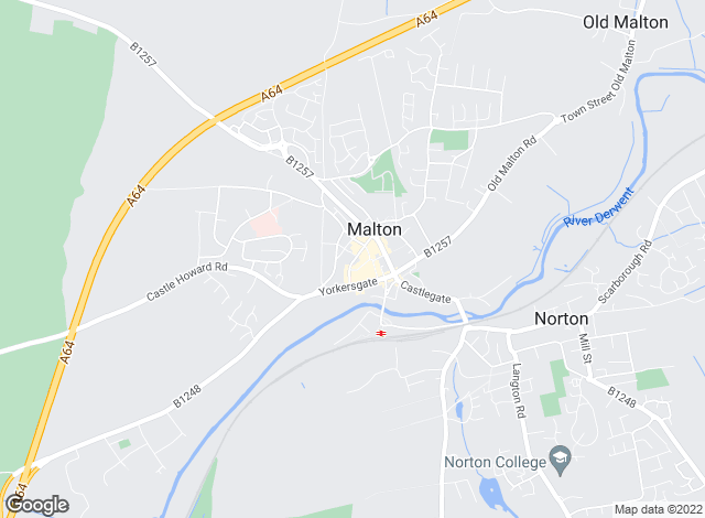 Map for Cundalls, Malton