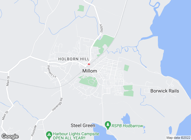 Map for YOUR MOVE, Millom