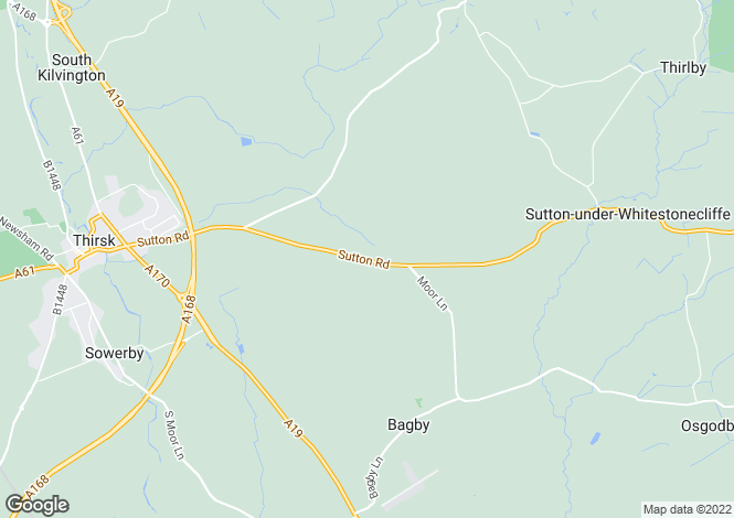 Map for Hollin Barn Farm, Thirsk, North Yorkshire YO7 2ER