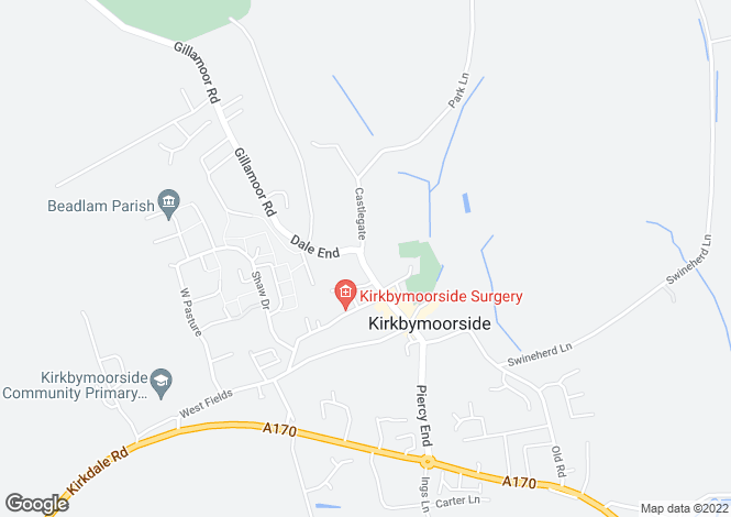Map for High Market Place,