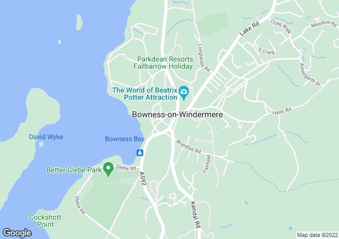 Map for The Royal, Bowness-on-Windermere