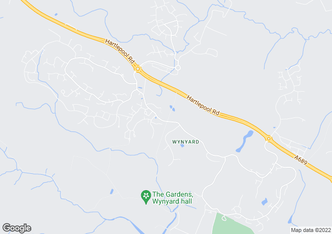 Map for Wood End Court Wynyard