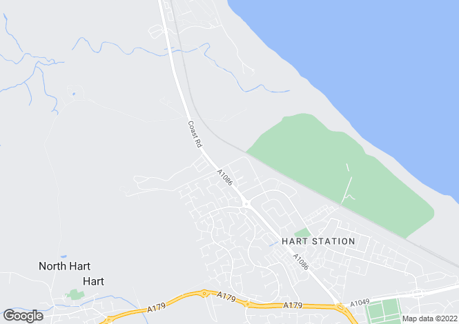 Map for Hartville Road, Hartlepool