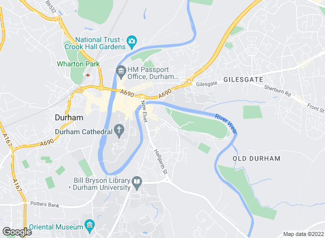Map for Elite Estates & Lettings, Durham