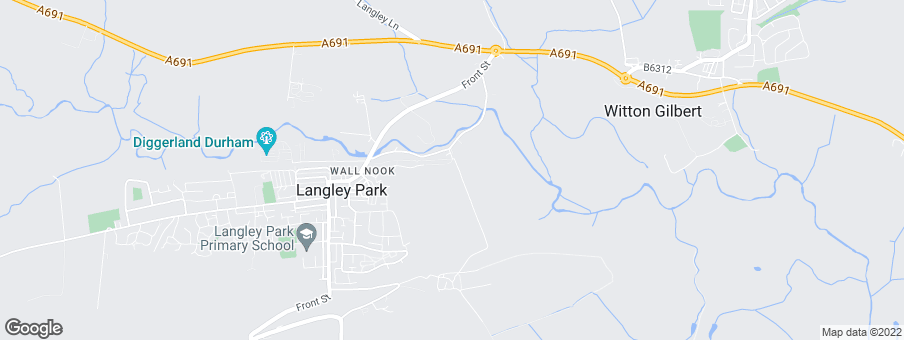 Map for Wallnook Grange development by Shepherd Homes