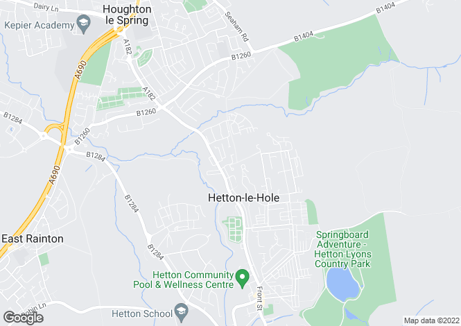 Map for Elmfield, Hetton Le Hole, Hetton Le Hole, Tyne And Wear