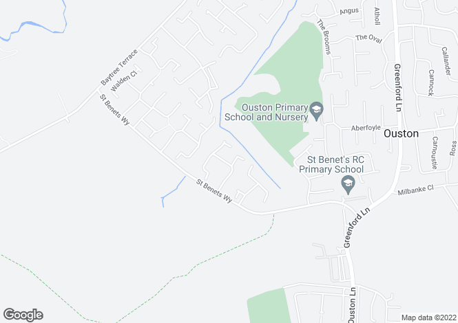 Map for Wensley Close, Ouston, Chester Le Street DH2