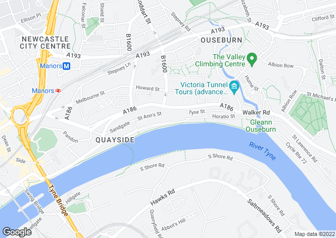 Map for Quayside,