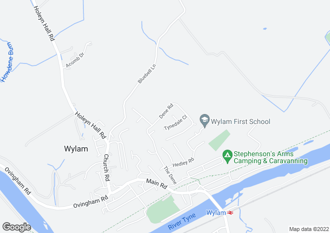 Map for Wylam
