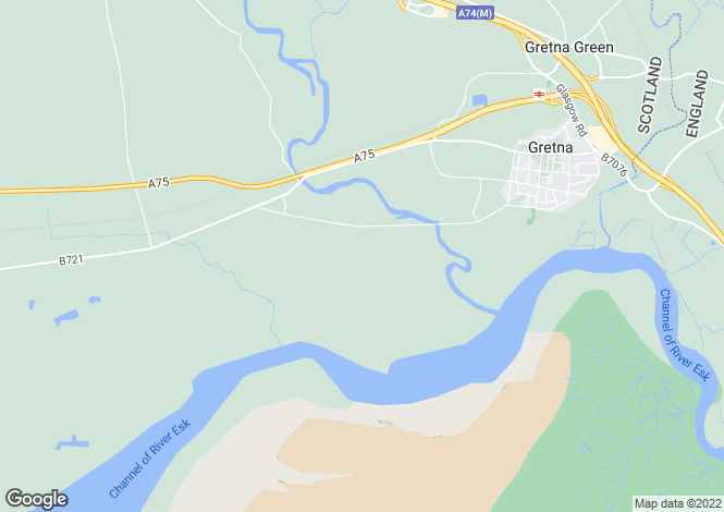Map for Haven Way, Gretna, Dumfriesshire