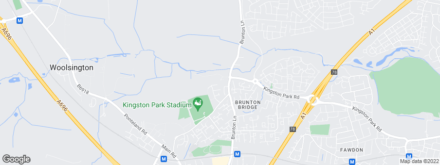 Map for Brunton Village development by Taylor Wimpey