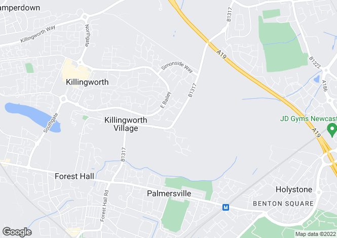 Map for Orchard Close,