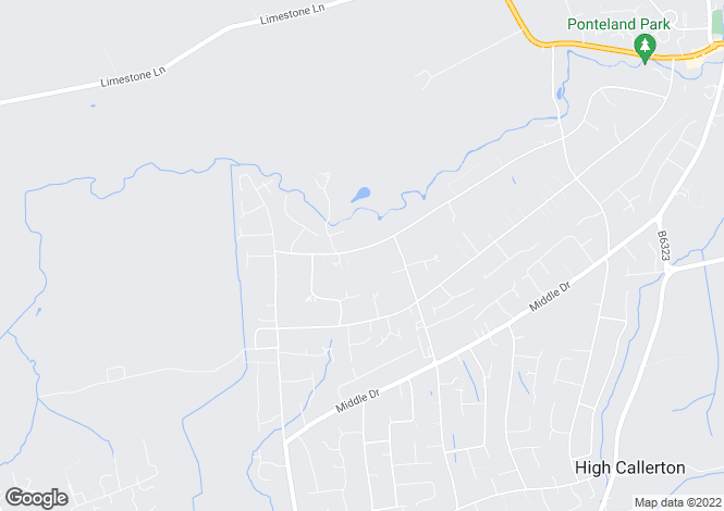 Map for Runnymede Road,