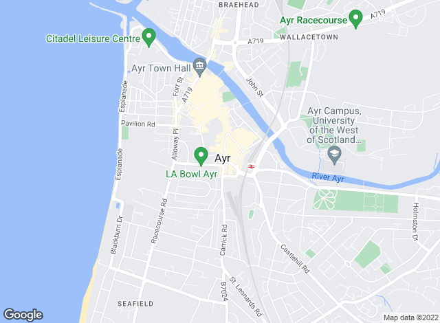 Map for CKD Galbraith, Ayr
