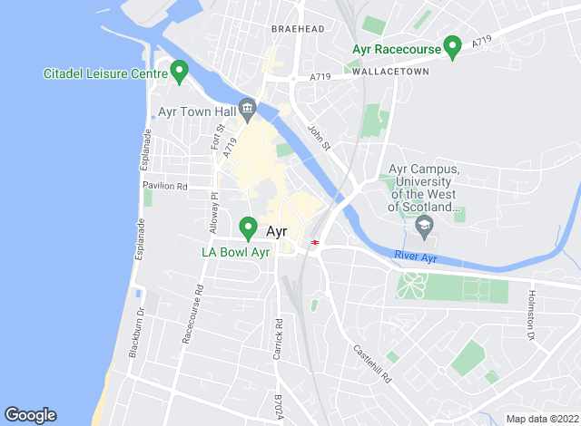 Map for The Property Box, Ayr