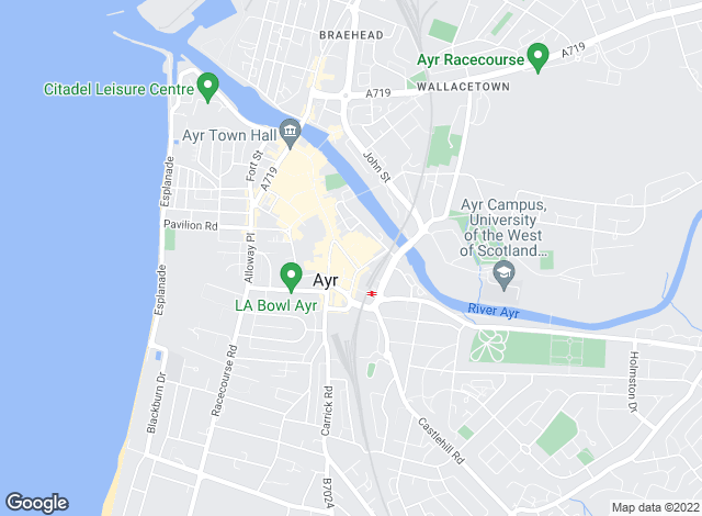 Map for Homesure, Ayr