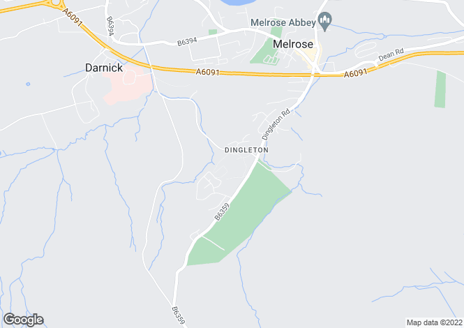 Map for 49 Dingleton Apartments, Chiefswood Road, MELROSE, Roxburghshire, TD6 9HJ, Scotland ***LET AGREED***