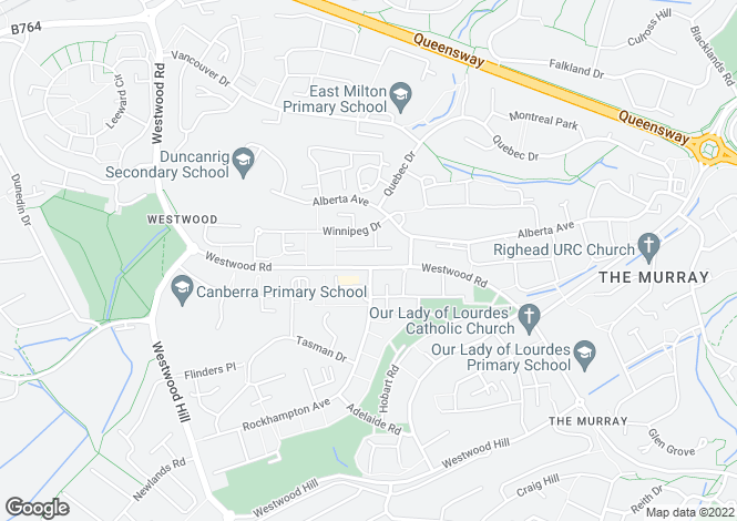 Map for Hudson Terrace,