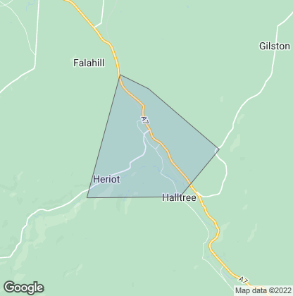Map of property in Heriot