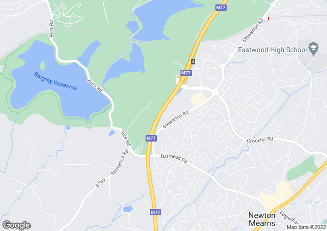 Map for EDEN at Highgrove Park, Stewarton Road,