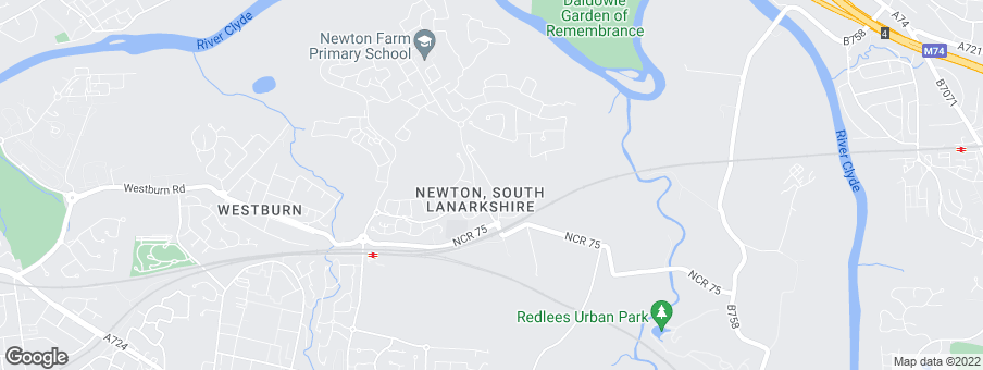 Map for Newton Farm development by Taylor Wimpey