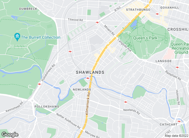 Map for Connect Property Management, Shawlands
