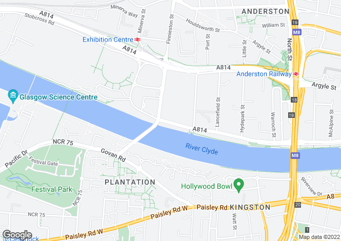 Map for Lancefield Quay,GLASGOW,Lanarkshire,G3 8HR,Scotland