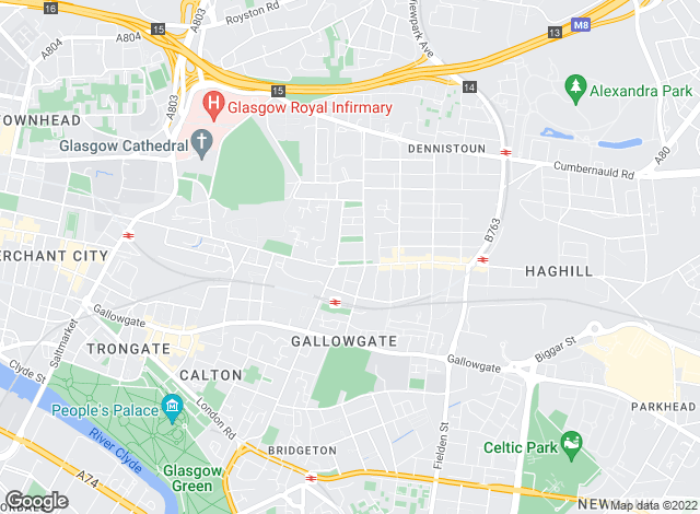 Map for Dial A Home, Glasgow