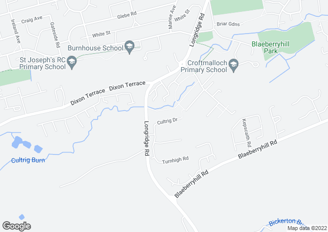 Map for Cultrig Drive, Whitburn, Bathgate EH47