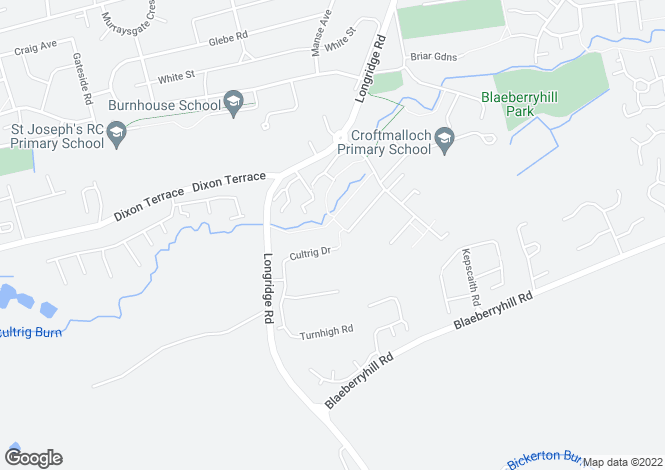 Map for 81 Cultrig Drive <br> Whitburn, Lothian